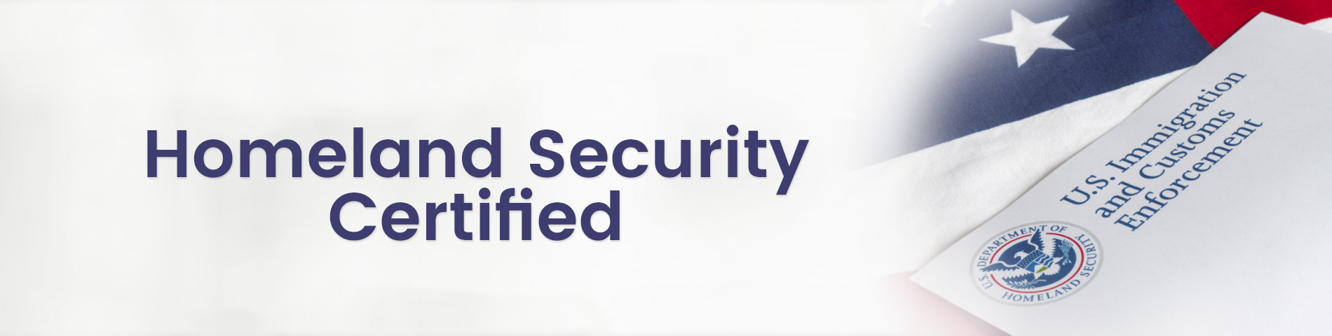 Homeland Security Certified